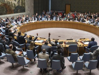 Security Council Meeting on the situation in the Central African Republic.  Vote