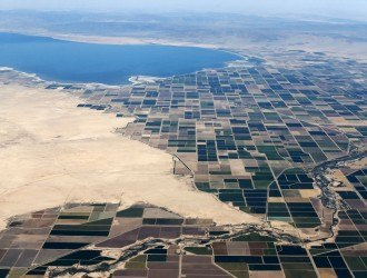 Agricultural farm land is shown near the Salton Sea and the town of Calipatria in California, United States, May 31, 2015.     REUTERS/Mike Blake/File Photo
