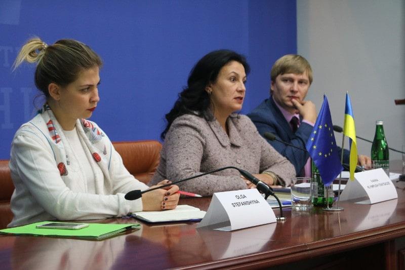 Зустріч польських журналістів з Іванною Климпуш-Цинцадзе, віце-прем'єркою з європейської та євроатлатничної інтеграції.